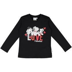 vaatteet Lapset T-paidat & Poolot Melby 40C0283DN Musta