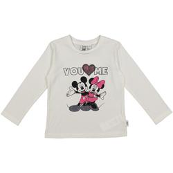 vaatteet Lapset T-paidat & Poolot Melby 40C0403DN Valkoinen