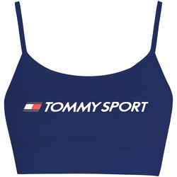 vaatteet Naiset Urheiluliivit Tommy Hilfiger S10S100450 Sininen