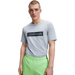 vaatteet Miehet T-paidat & Poolot Calvin Klein Jeans 00GMT0K119 Harmaa