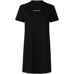 vaatteet Naiset Lyhyt mekko Calvin Klein Jeans J20J214170 Musta