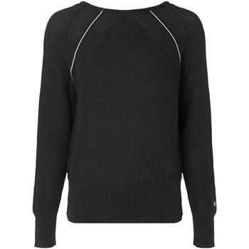 vaatteet Naiset Neulepusero Calvin Klein Jeans K20K202040 Musta