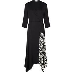 vaatteet Naiset Mekot Calvin Klein Jeans K20K202061 Musta