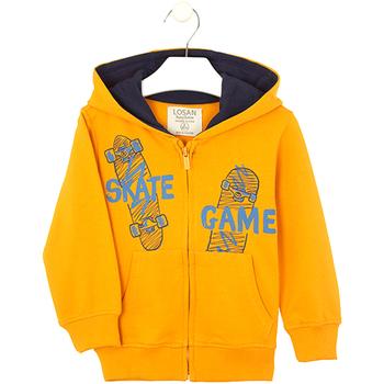vaatteet Lapset Svetari Losan 025-6653AL Keltainen