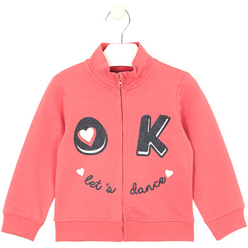 vaatteet Lapset Svetari Losan 026-6651AL Vaaleanpunainen