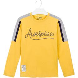 vaatteet Lapset T-paidat & Poolot Losan 023-1008AL Keltainen