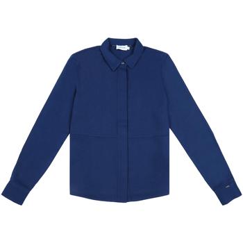 vaatteet Naiset Paitapusero / Kauluspaita Calvin Klein Jeans K20K202183 Sininen