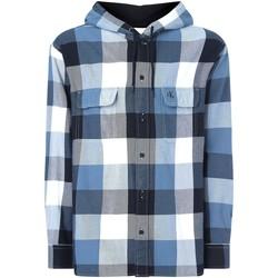 vaatteet Miehet Pitkähihainen paitapusero Calvin Klein Jeans J30J315668 Musta