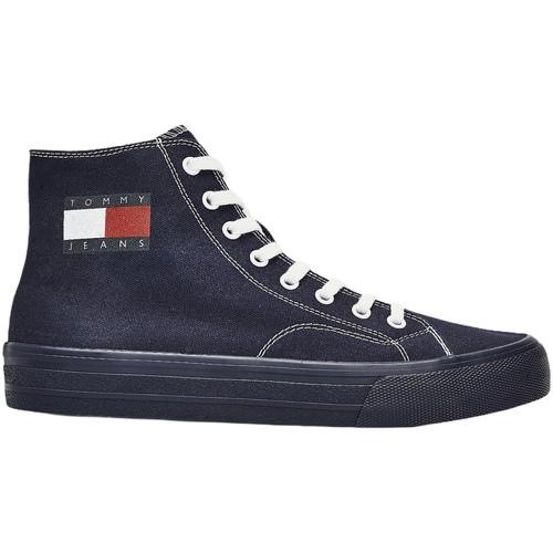 kengät Miehet Tennarit Tommy Hilfiger EM0EM00485 Sininen