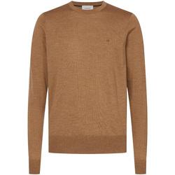 vaatteet Miehet Neulepusero Calvin Klein Jeans K10K102727 Ruskea