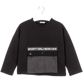 vaatteet Lapset Svetari Losan 024-1015AL Musta