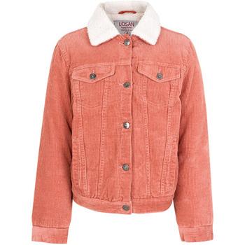 vaatteet Lapset Takit Losan 024-2001AL Vaaleanpunainen