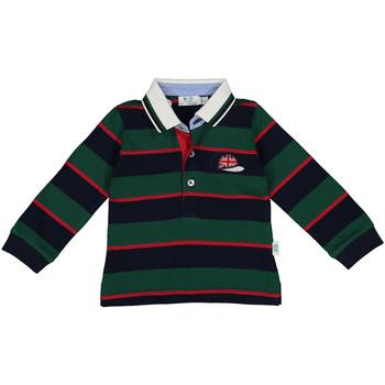vaatteet Pojat Pitkähihainen poolopaita Melby 20C0270 Vihreä
