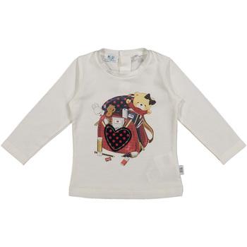 vaatteet Lapset T-paidat & Poolot Melby 20C0361 Valkoinen