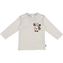 vaatteet Lapset T-paidat & Poolot Melby 20C2150 Valkoinen