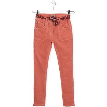 vaatteet Lapset Slim-farkut Losan 024-9005AL Vaaleanpunainen