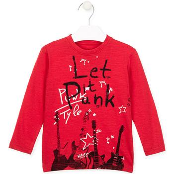 vaatteet Lapset T-paidat & Poolot Losan 025-1001AL Punainen