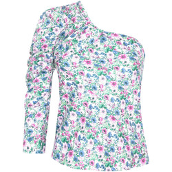 vaatteet Naiset Topit / Puserot Pepe jeans PL303729 Valkoinen