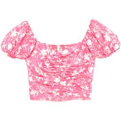 vaatteet Naiset Topit / Puserot Pepe jeans PL303738 Vaaleanpunainen