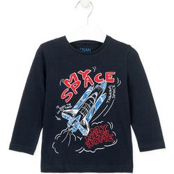 vaatteet Lapset T-paidat & Poolot Losan 025-1201AL Sininen