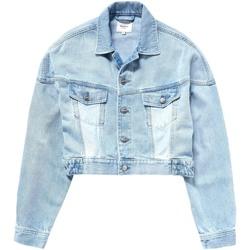 vaatteet Naiset Farkkutakki Pepe jeans PL401840 Sininen
