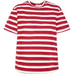 vaatteet Naiset Lyhythihainen t-paita Pepe jeans PL504521 Punainen
