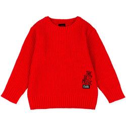 vaatteet Lapset Neulepusero Losan 025-5000AL Punainen
