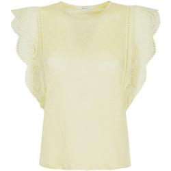 vaatteet Naiset T-paidat & Poolot Pepe jeans PL504527 Keltainen