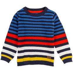 vaatteet Lapset Neulepusero Losan 025-5006AL Sininen