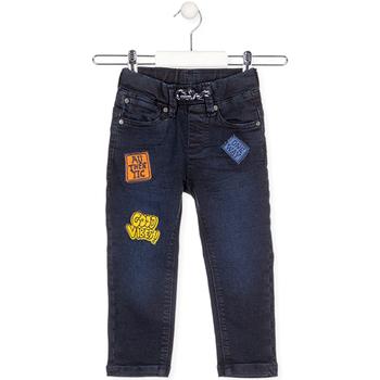 vaatteet Lapset Farkut Losan 025-6037AL Sininen