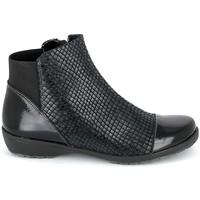 kengät Naiset Bootsit Boissy 8081 Noir Musta