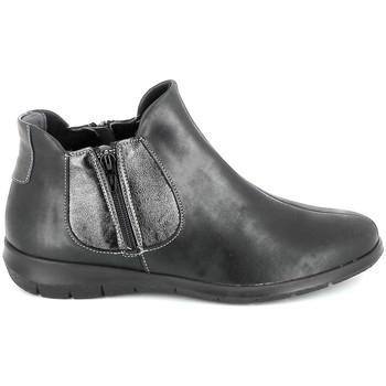 kengät Naiset Bootsit Boissy 66000 Noir Musta