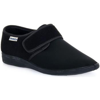 kengät Miehet Tossut Emanuela 985 NERO PANTOFOLA Nero