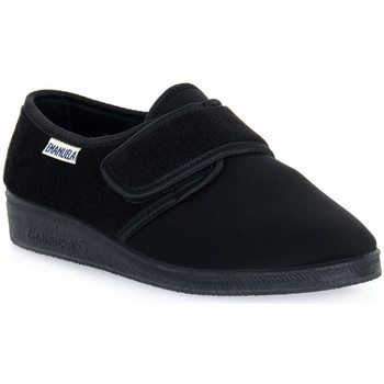 kengät Miehet Tossut Emanuela 601 NERO PANTOFOLA Nero