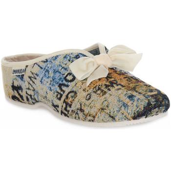 kengät Naiset Tossut Emanuela 2900 GOBE 320 Grigio