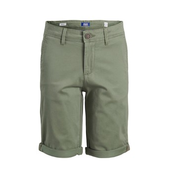 vaatteet Pojat Shortsit / Bermuda-shortsit Jack & Jones JJIBOWIE JJSHORTS Beige