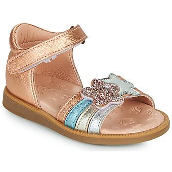 kengät Tytöt Sandaalit ja avokkaat Acebo's 1228-RAME Pronssi