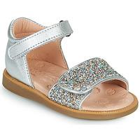 kengät Tytöt Sandaalit ja avokkaat Acebo's 1232-PLATA Hopea