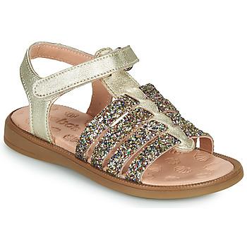 kengät Tytöt Sandaalit ja avokkaat Acebo's 5498GE-PLATINO-J Kulta