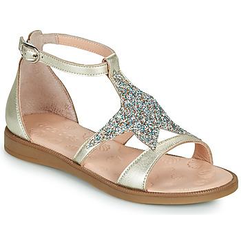 kengät Tytöt Sandaalit ja avokkaat Acebo's 9895GE-PLATINO-J Kulta
