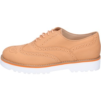 kengät Naiset Derby-kengät & Herrainkengät Hogan Classiche Pelle Marrone