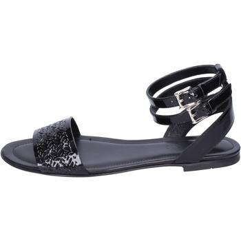 kengät Naiset Sandaalit ja avokkaat Hogan Sandaalit BK657 Musta