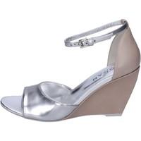 kengät Naiset Sandaalit ja avokkaat Hogan BK658 Hopea