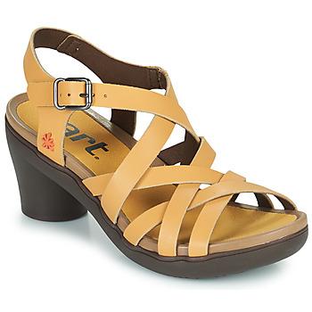 kengät Naiset Sandaalit ja avokkaat Art ALFAMA Beige