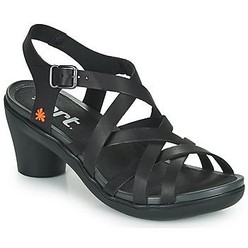 kengät Naiset Sandaalit ja avokkaat Art ALFAMA Musta