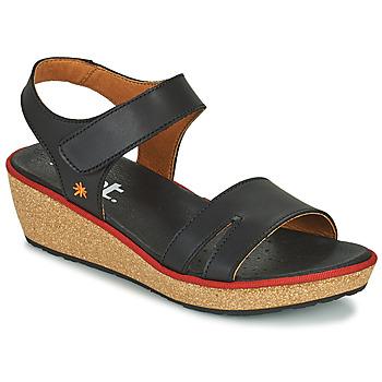 kengät Naiset Sandaalit ja avokkaat Art CAPRI Musta