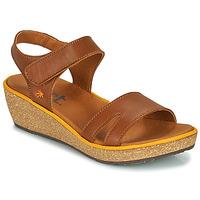 kengät Naiset Sandaalit ja avokkaat Art CAPRI Ruskea