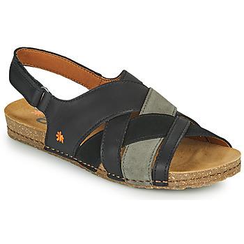 kengät Naiset Sandaalit ja avokkaat Art CRETA Musta