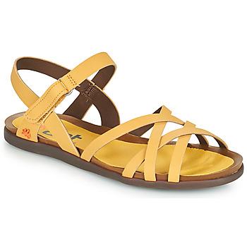 kengät Naiset Sandaalit ja avokkaat Art LARISSA Keltainen
