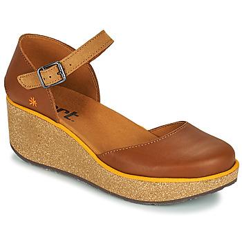kengät Naiset Sandaalit Art PARMA Ruskea